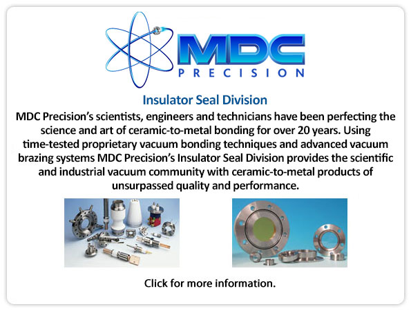 MDC Insulator Seals